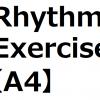 【Rhythm A4】初心者にオススメ!裏を意識した初歩的なリズムトレーニング。Guitar Easy Rhythm Exercise