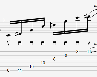 Minor 3 Octaves Sweep Picking / マイナー 3オクターブスウィープ【TAB】John Petrucci Sweep Picking Arpeggio 3 Octaves Guitar Exercise ジョン・ペトルーシ 3オクターブ スウィープ ギター【Practice TAB】