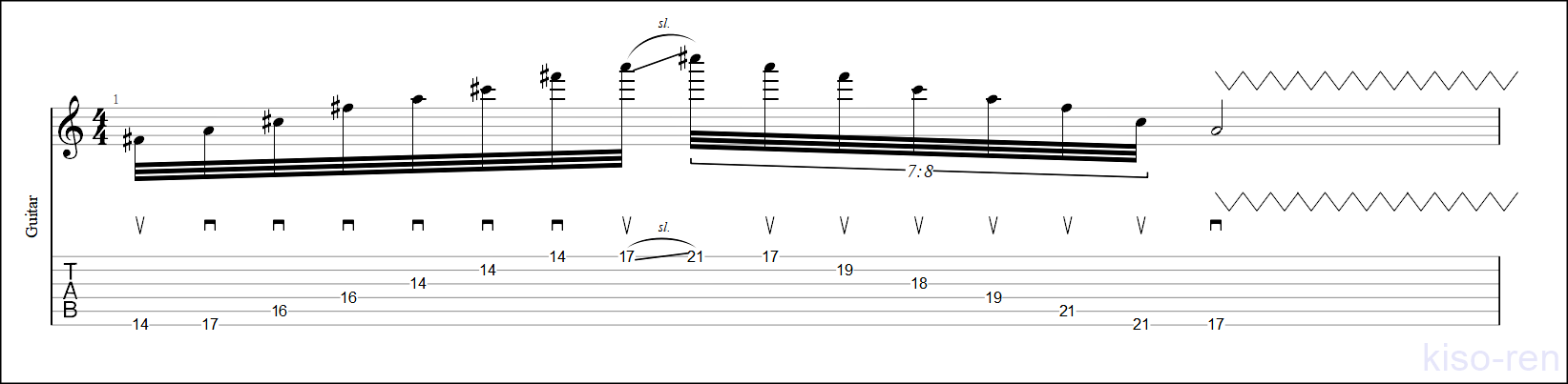 F#m Sweep Picking【TAB】Big Sweep Picking John Petrucci  6弦スウィープピッキング ジョン・ペトルーシ 練習【Practice TAB】