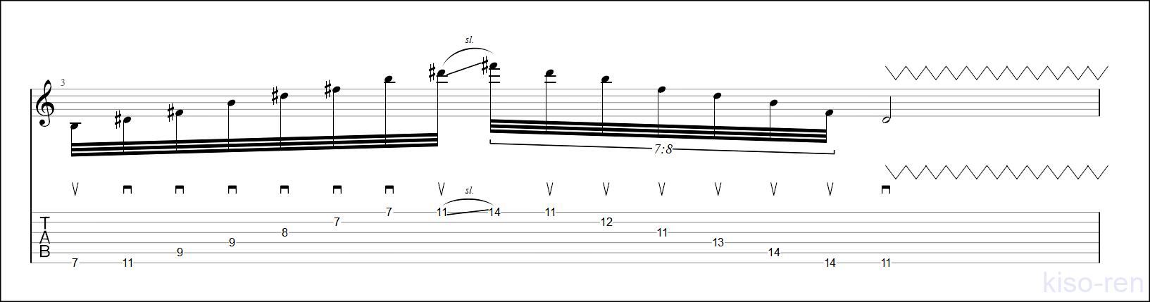 Bm Sweep Picking【TAB】Big Sweep Picking John Petrucci  6弦スウィープピッキング ジョン・ペトルーシ 練習【Practice TAB】