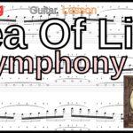 【TAB】Sea Of Lies / Symphony X Tapping Guitar Michael Romeo シンフォニーX マイケルロメオ タッピングギター BPM30-152【Tapping】