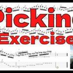 【PICKING Exercise】ANGRA / NOVA ERA TAB アングラ キコ・ルーレイロ ピッキング練習【SKIPPING】