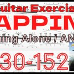 【TAPPING Exercise】Running Alone / ANGRA TAB Kiko Loureiro アングラ キコ・ルーレイロ タッピング練習